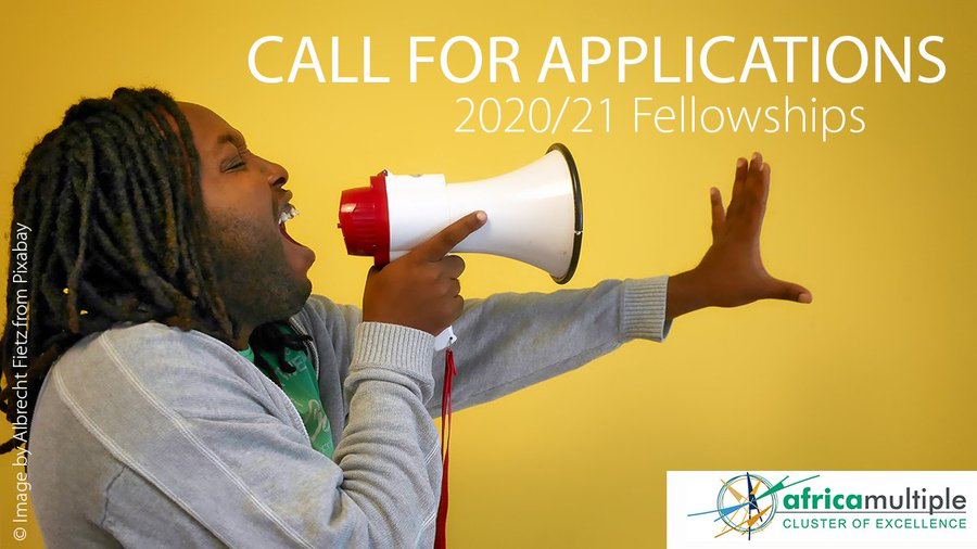 CALL FOR APPLICATIONS: 2020-2021 FELLOWSHIPS