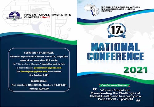 17TH NATIONAL CONFERENCE (FAWEN, 2021).